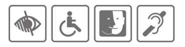 Mal entendant handicapé